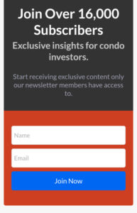 TrueCondos Mobile Optin