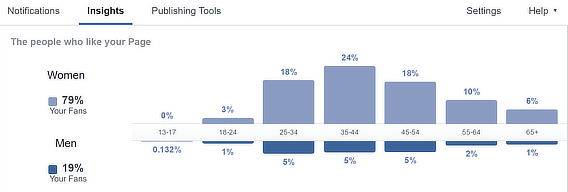 facebook audience demographics