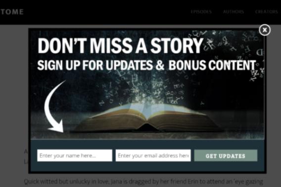 optin design blog subscribers