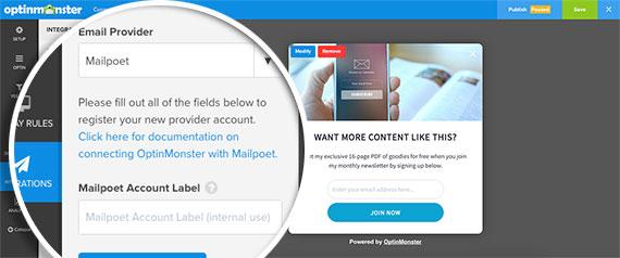 Select-MailPoet