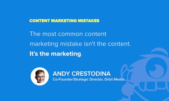 andy crestodina content marketing mistakes