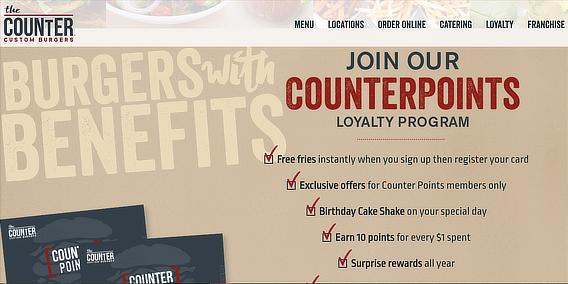 best restaurant email marketing thecounter