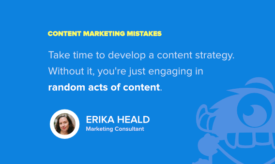 erika heald content marketing quote