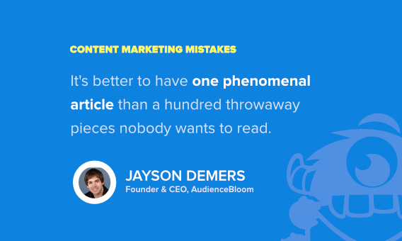 jayson demers content marketing quote