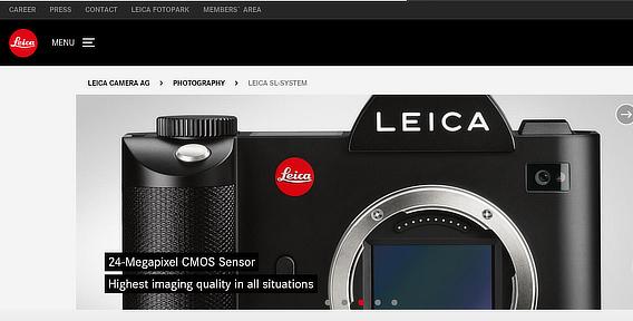 莱卡电子商务产品照片