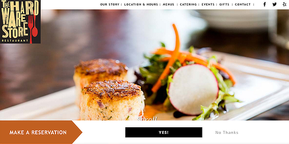 ths restaurant email marketing