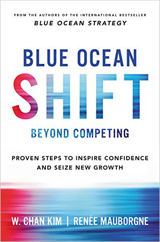 blue ocean shift best marketing books 2017