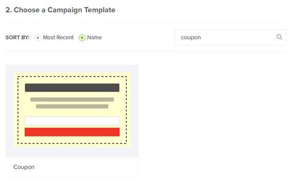 travel campaign coupon template
