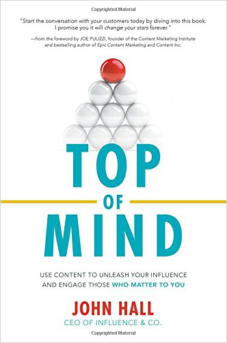 top of mind - best marketing books 2017