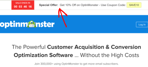 optinmonster cyber monday