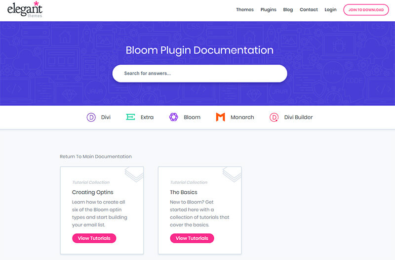 bloom documentation