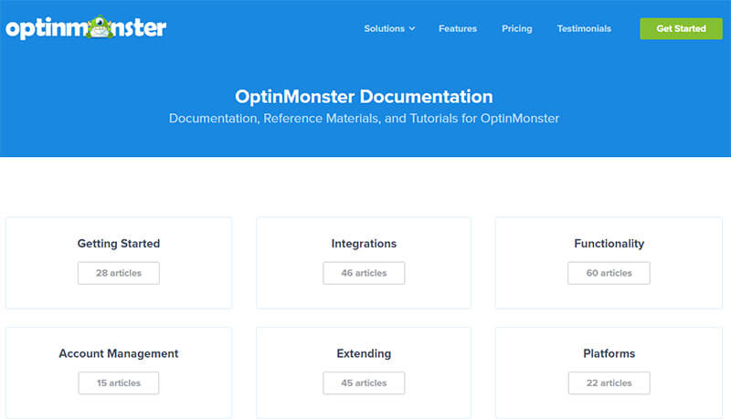 optinmonster documentation
