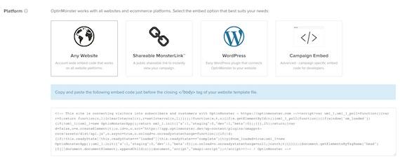 Builder Embed any Website