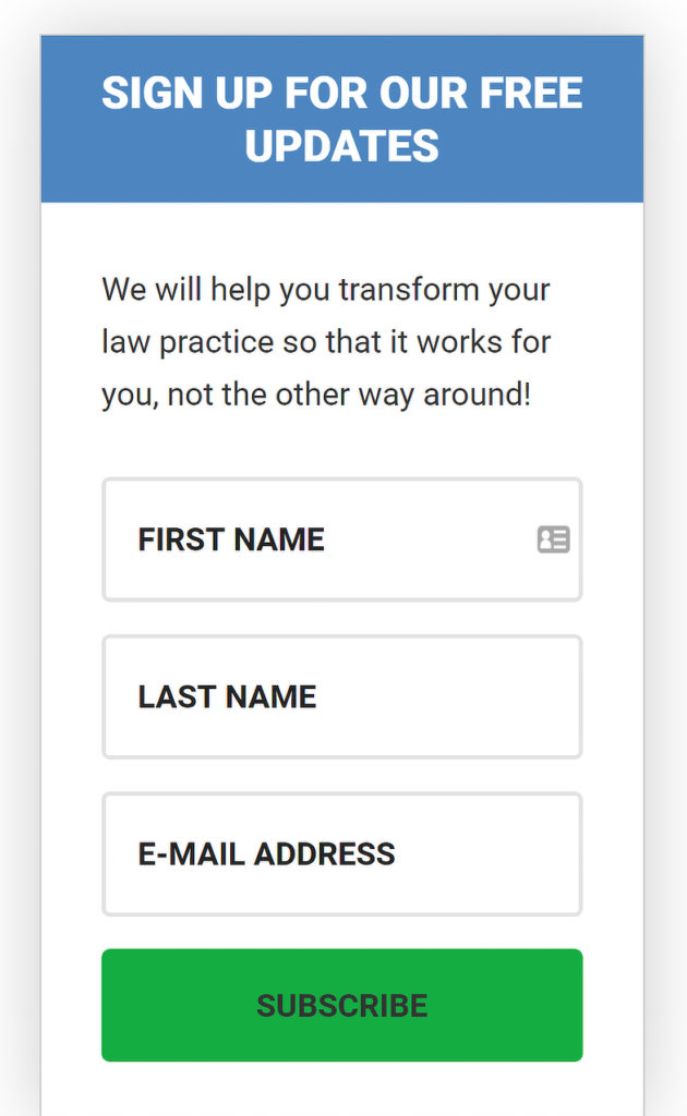 On Demand Law Office Sidebar Campaign