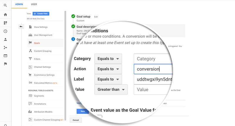 Event Goal Label