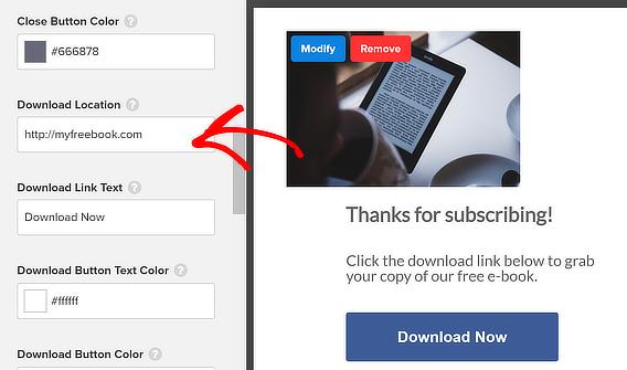 om download select