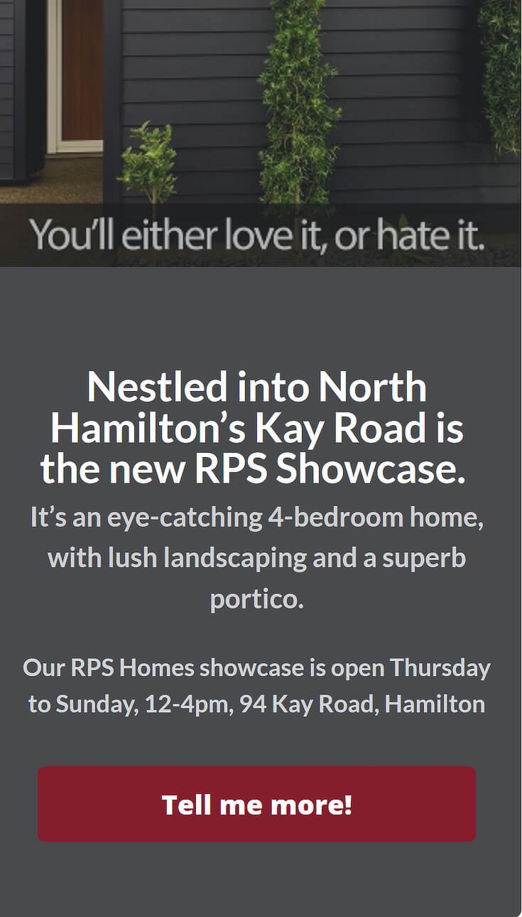 rps homes slidein