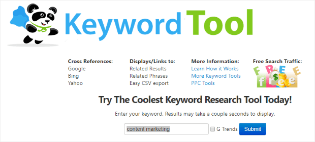 seobook enter keyword