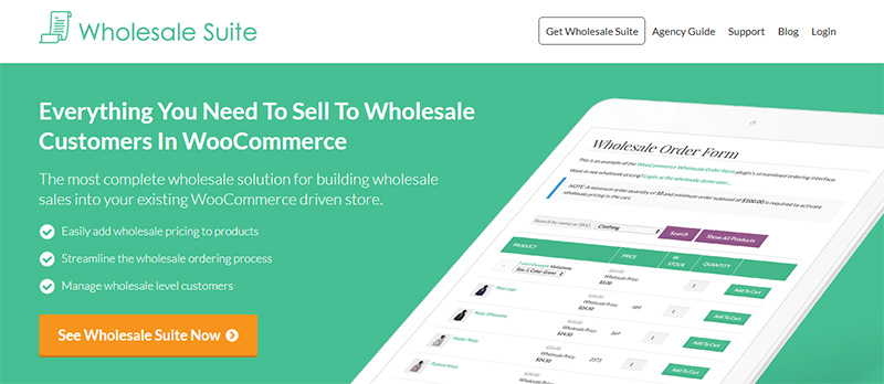 Wholesale Suite uses OptinMonster's two-step optins