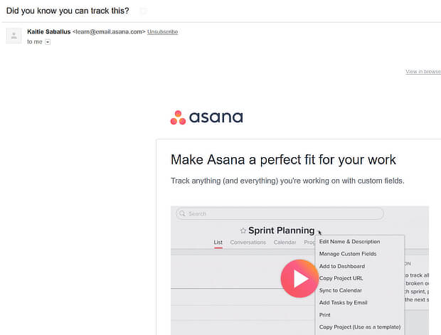 asana did you know