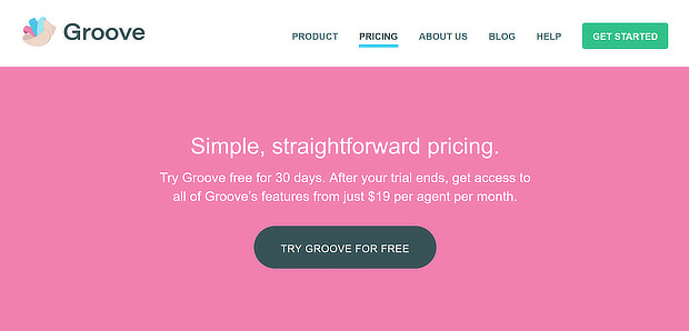 groove pricing