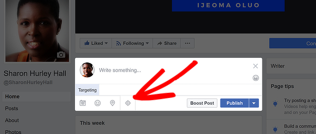 how to drive traffic to your facebook page targeting