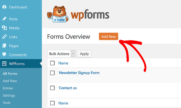 wpf add new form