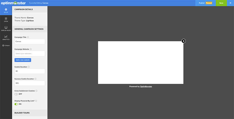 Canvas Overview