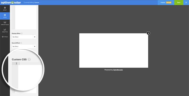 Add Custom CSS