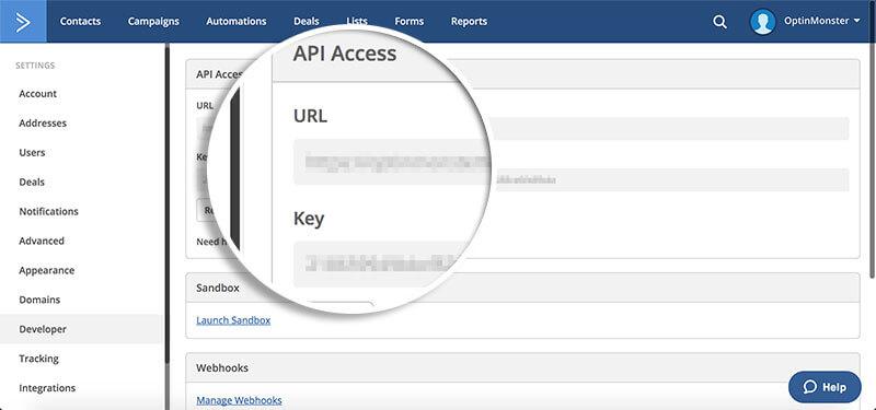 Copy-Active-Campaign API-Details