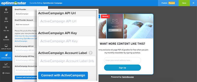 Integration----Add-ActiveCampaign-details
