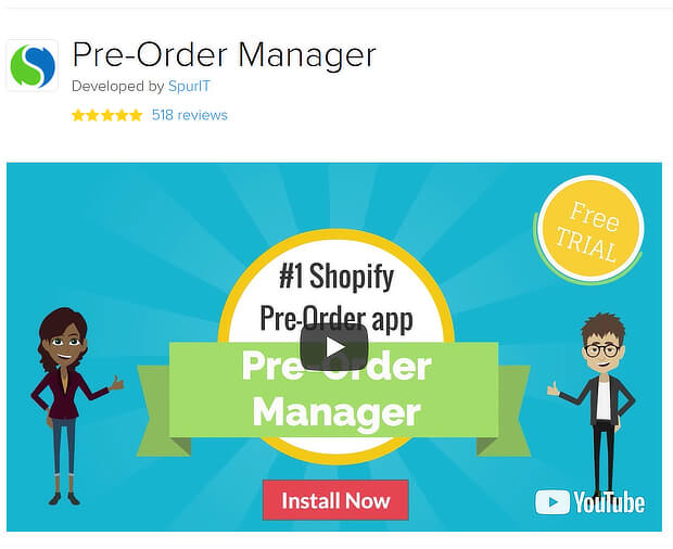best shopify apps to increase sales - pre-order manager