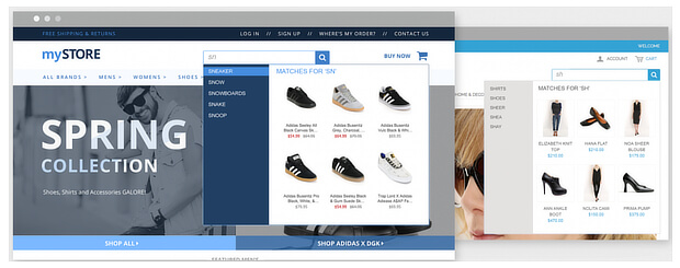 evergage shoe retailer example