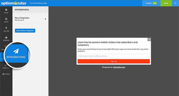 shopify mailchimp popup integration