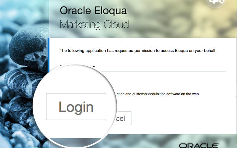 Login to Eloqua