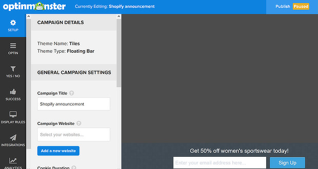 How to Create an Announcement Bar in Shopify (and Boost Sales)