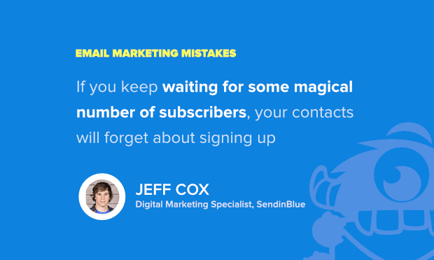 jeff cox of sendinblue shares what not to do in email marketing