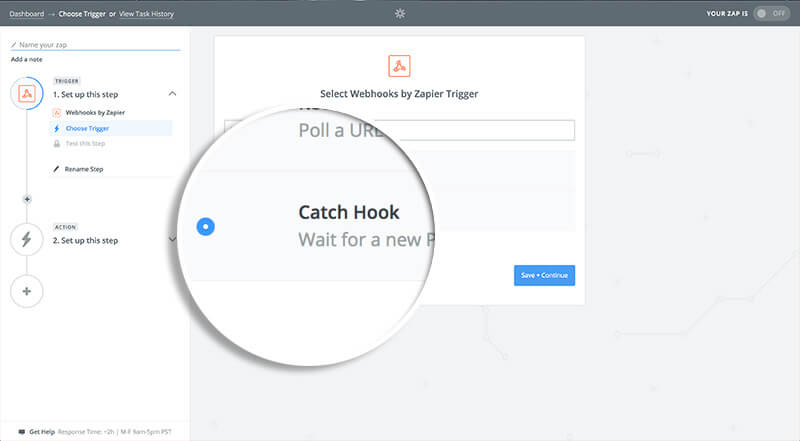 Select Catch Hook
