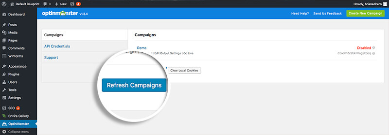 How to Create a Sidebar Widget Campaign in WordPress