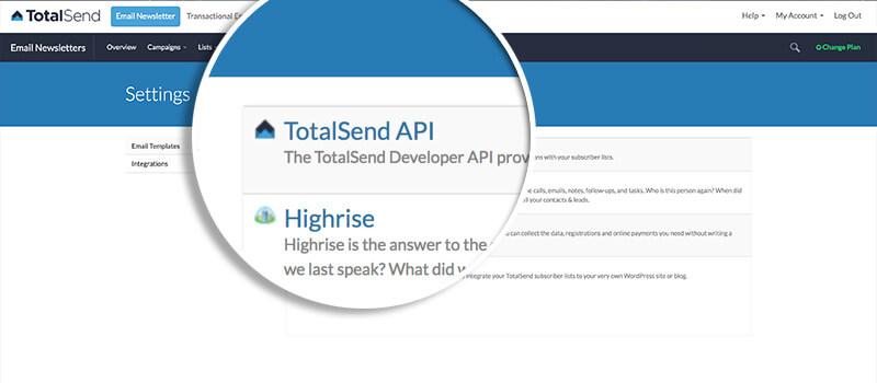 Click TotalSend API