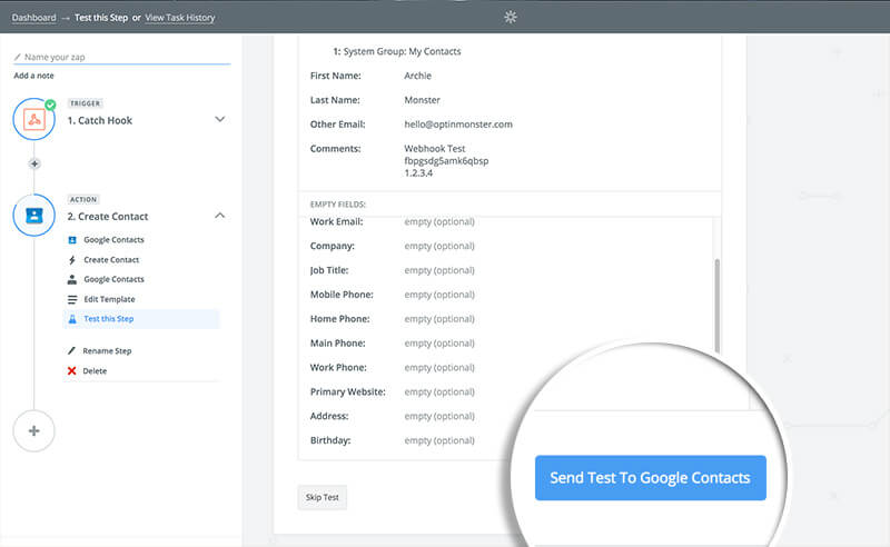 how to add people to google contacts