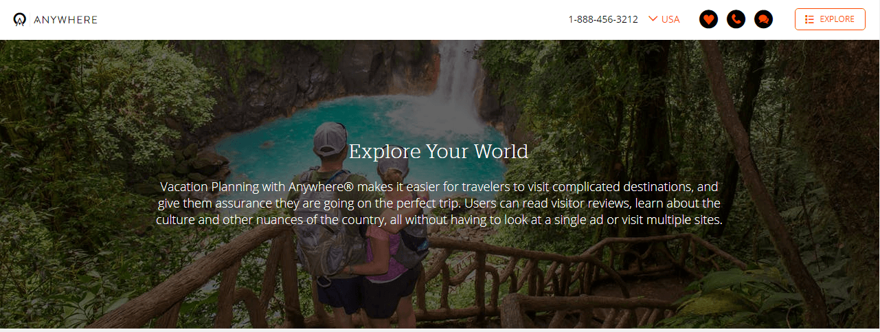 Travel agency marketing case study with Anywhere.com