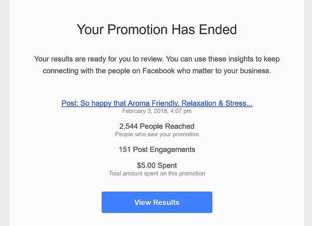 best growth hacks - facebook promotion