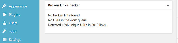 broken link checker wp