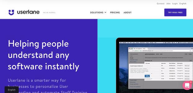 增长黑客工具 -  userlane是一个不错的选择