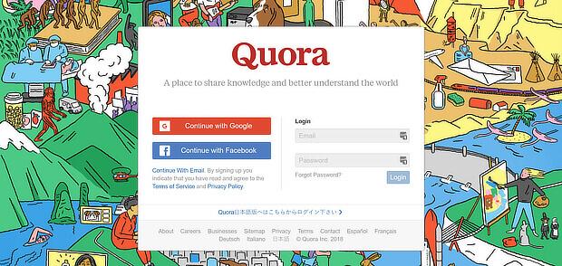 使用quora作为业务增长黑客