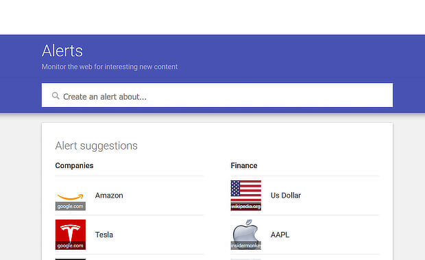 use google alerts as a content marketing tool