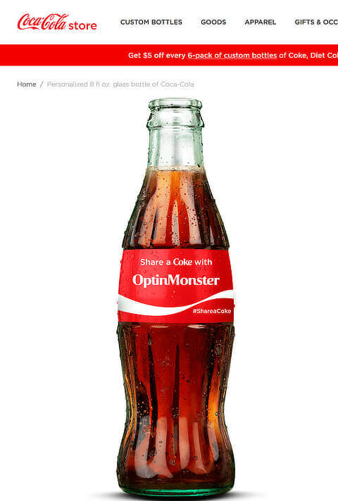 share a coke content marketing campaign