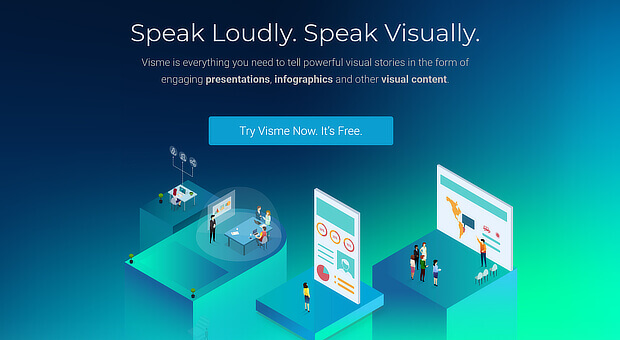 use visme for visual content creation