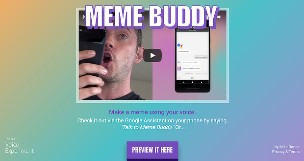 use meme buddy as a visual content creation tool